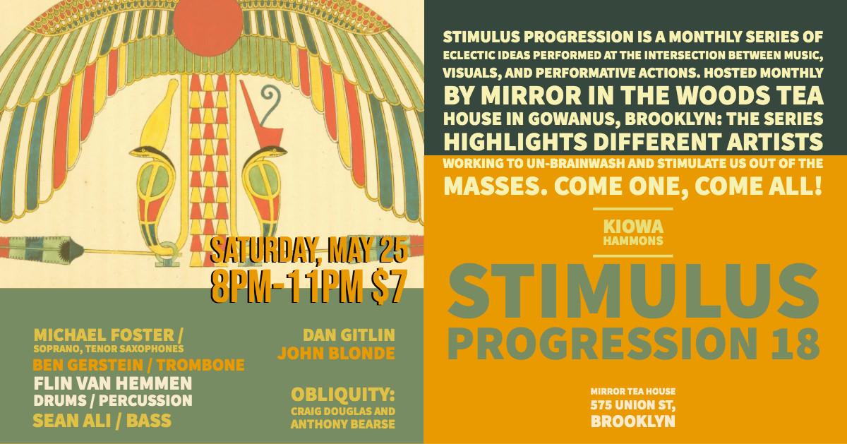 STIMULUS PROGRESSION #18
