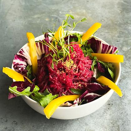 Beet & Cashew Salad Ramen