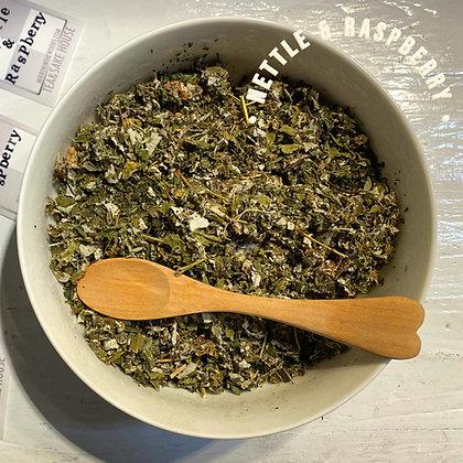 Nettle & Raspberry leaf tea