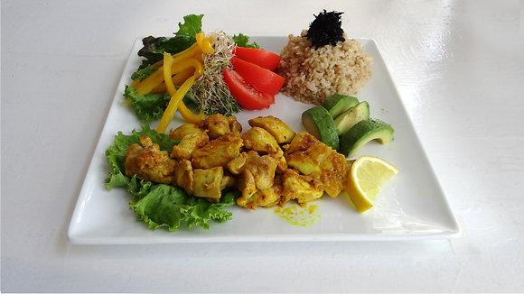 Turmeric Chicken Salad Bowl