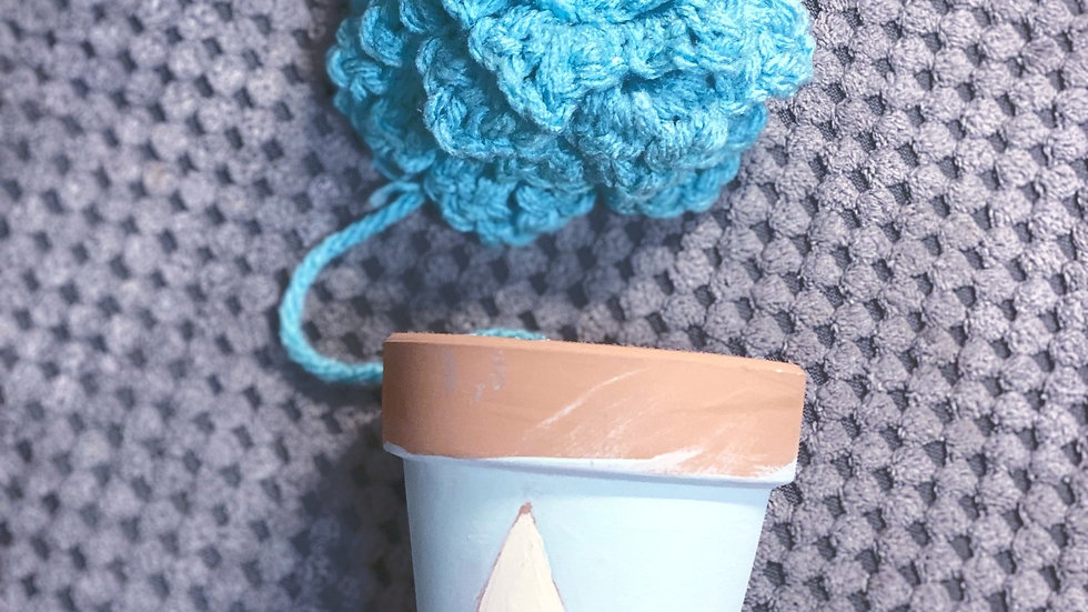 Knitted Succulent