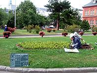 北海道庁本庁舎 庭園管理業務