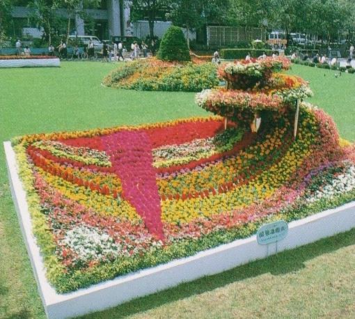 札幌市・大通り花壇