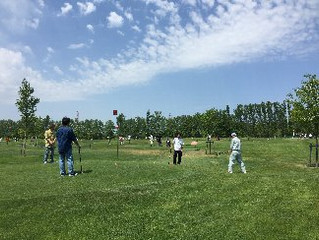 平成28年度第1回コクサクグリーン会パークゴルフ大会を開催しました。