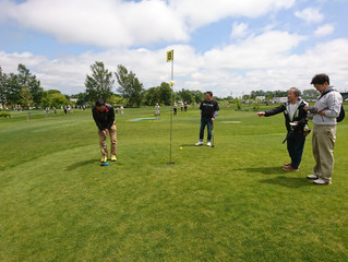 コクサクグリーン会の平成29年度パークゴルフ大会を開催しました。