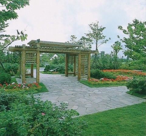 札幌市・百合ヶ原公園造成・ポートランド庭園造成工事