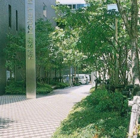 札幌市・日本生命北門館ビル外構植栽工事