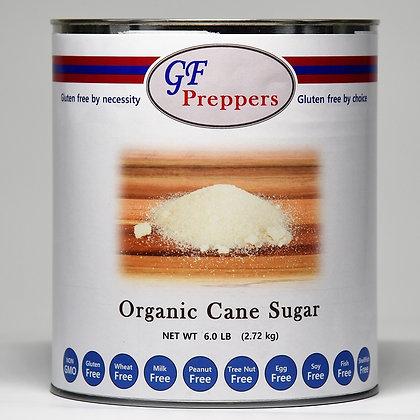 Organic Cane Sugar - 6 lbs