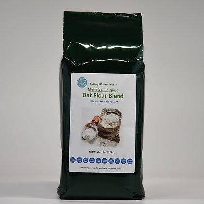 Mette's All-Purpose Oat Flour - 5 lbs