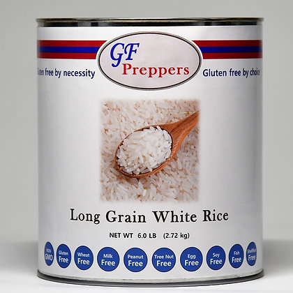 Long Grain White Rice - 6 lbs