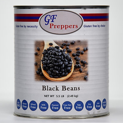 Black Beans - 5.5 lbs