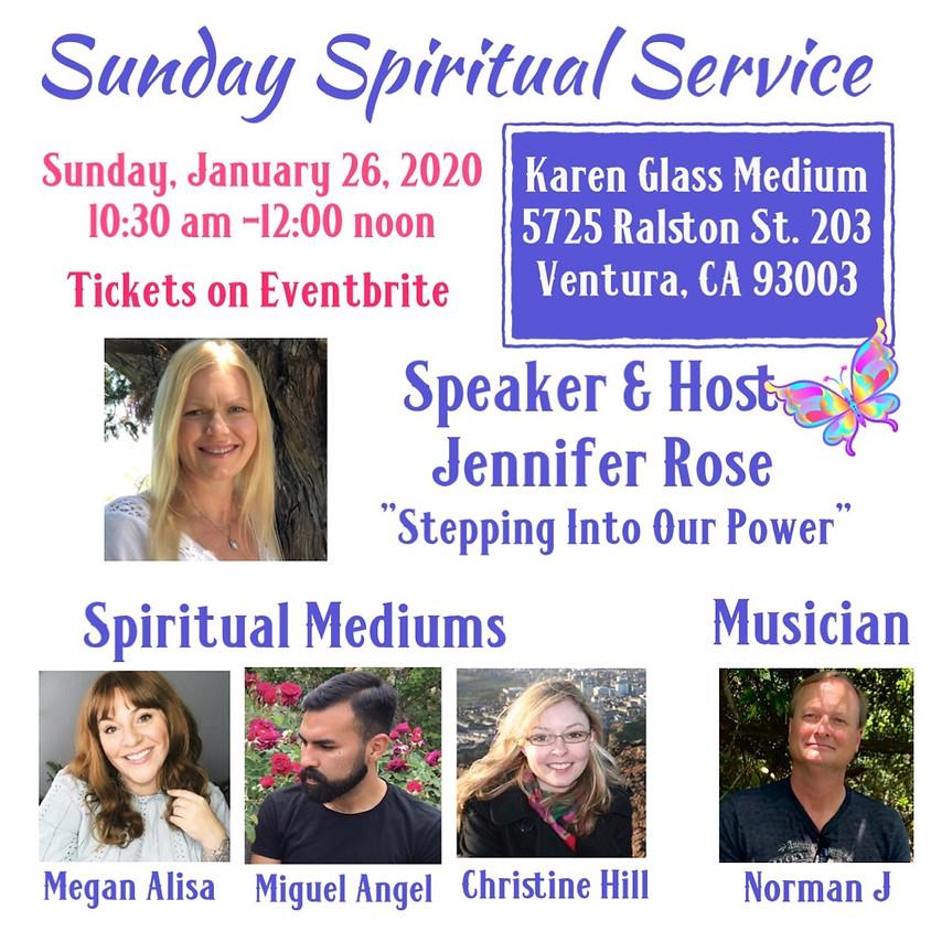 Sunday Spiritual Service - Mediumship Demonstration