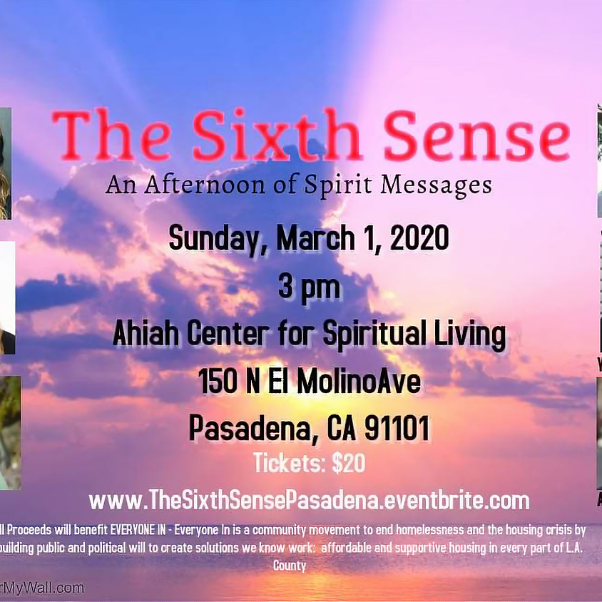 The Sixth Sense - Afternoon of Spirit Messages