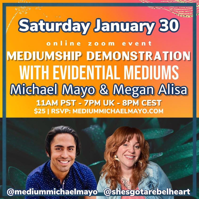 Bridging Both Worlds: Online Mediumship Demonstration!
