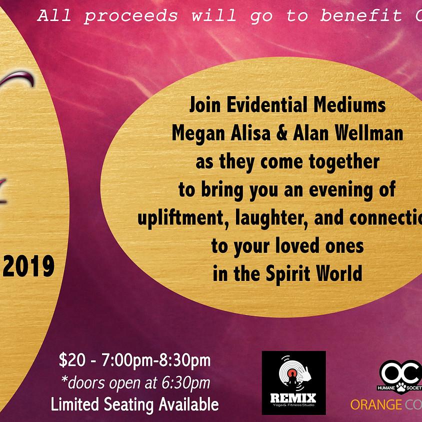 An Evening of Spirit Communication - Fundraiser for OC Humane Society