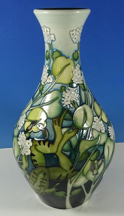 "MOORCROFT Crockett Prince 372/11 Emma Bossons Frog Ltd Ed 25 11"" Vase RRP £775"