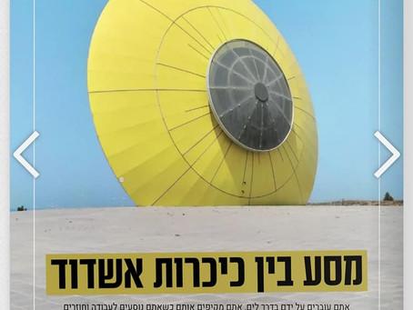 מסע בין כיכרות אשדוד - המגזין גיליון 845