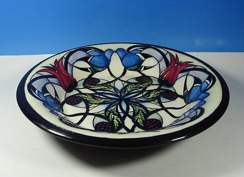 "MOORCROFT 1901 Blackwell House Ltd Ed 9/30 Shape 246/11 11.25"" Bowl RRP £565"