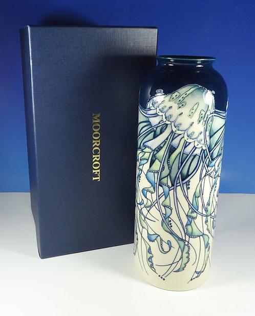 "MOORCROFT Jellyfish 161/11 Ltd Ed of 30 Large 12"" Vase 1st RRP £895 Boxed"
