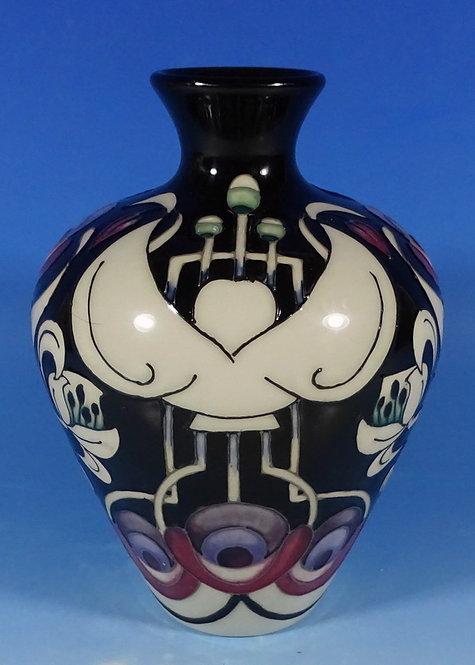 MOORCROFT Arts and Crafts TALWIN Vase 03/7 by Nicola Slaney RRP £445