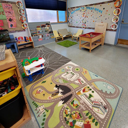 Play Zone, Art Display, Reading Nook