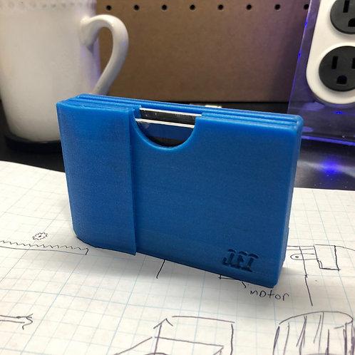 3D Printed Blue Wallet