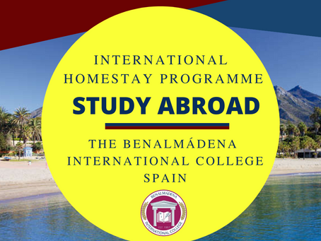Student Homestay Programme in Spain at The Benalmádena International College.