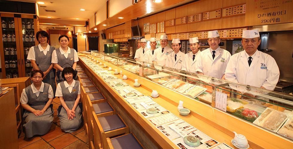 鮨処西鶴 札幌本店