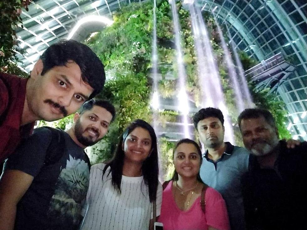 MCG Team in Singapore