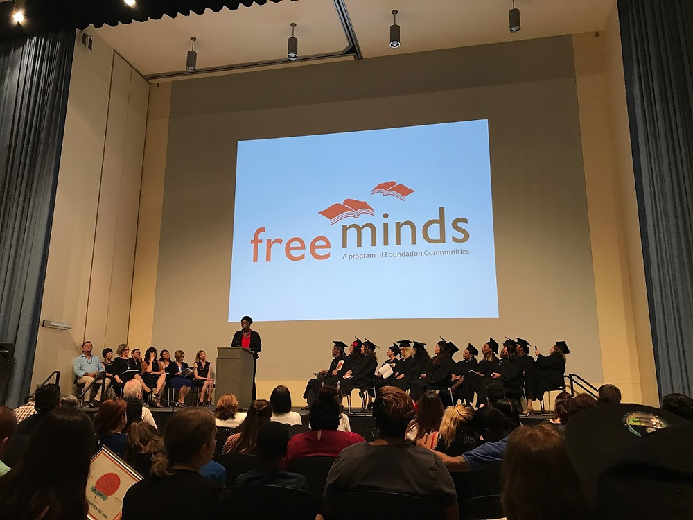 Foundation Communities Free Minds Graduation Class of 2017