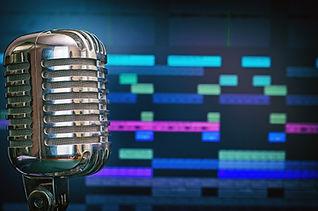 סינגלים לרדיו ורמיקסים, אולפן הקלטות, הפקת שיר