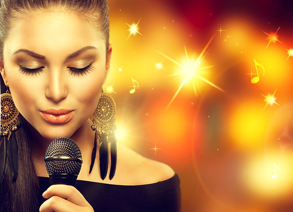 סט 20 תרגילי פיתוח קול לחימום מקצועי לפני הקלטות