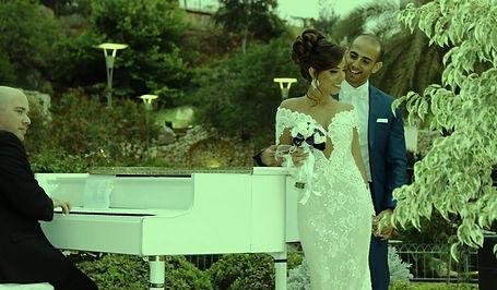 פסנתר קבלת פנים, פסנתר כנף לבן