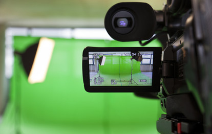 גרין סקרין, אולפן ירוק, מסך ירוק