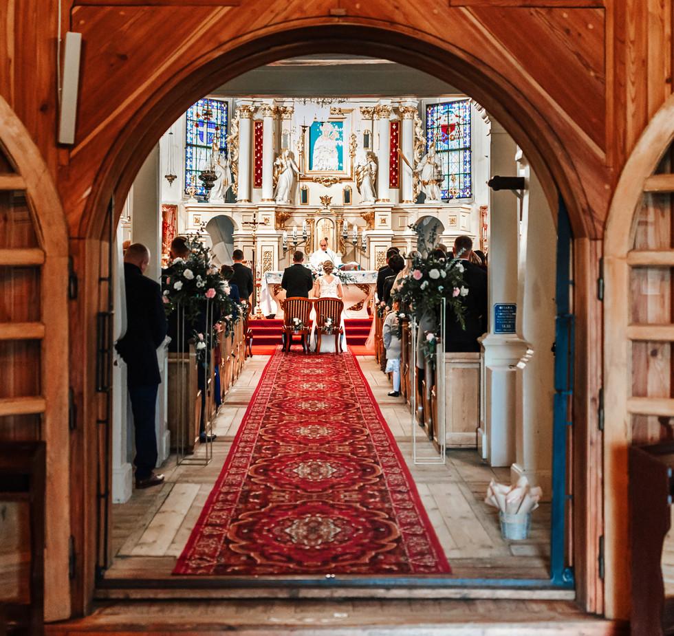 ślub kościelny, ślub w Grójcu, ślub Belsk Duży