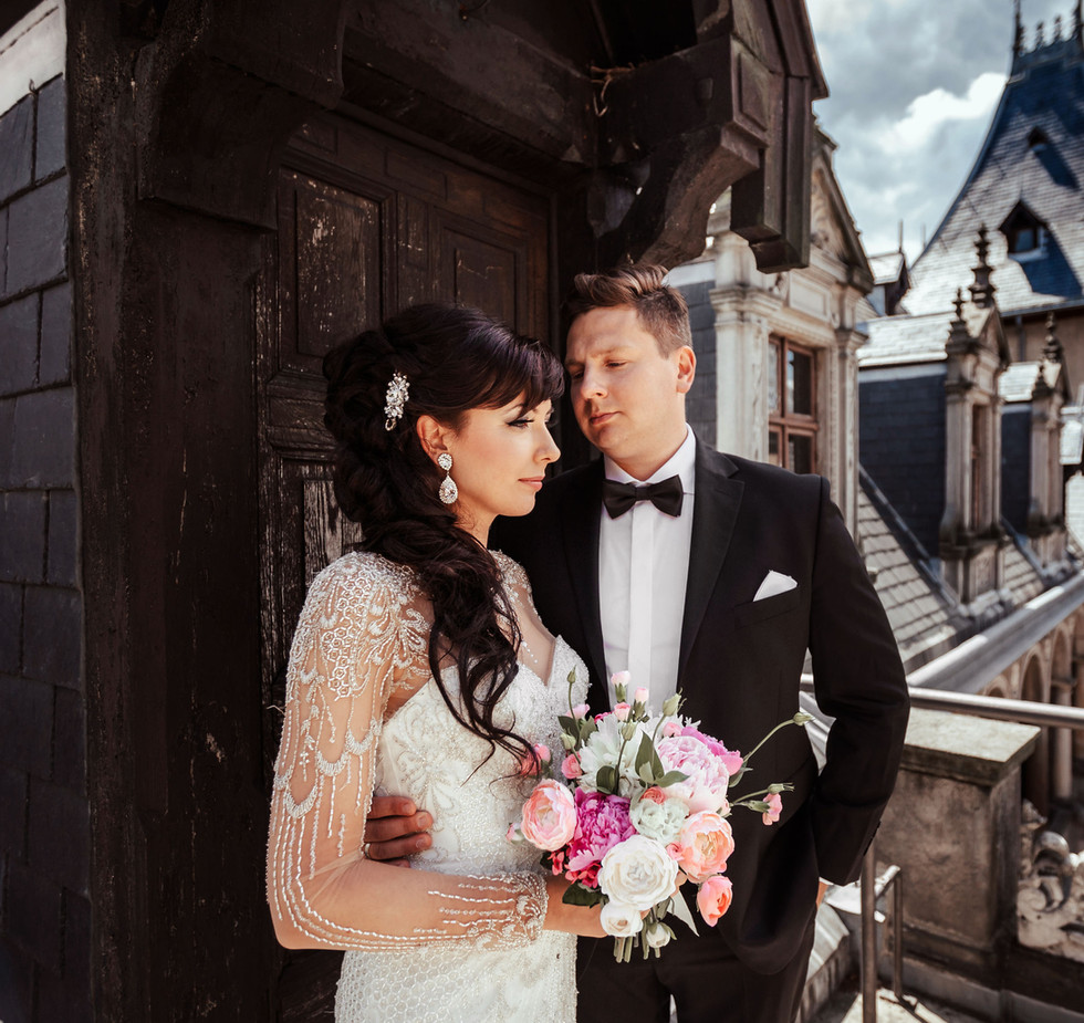 sesja ślubna na zamku