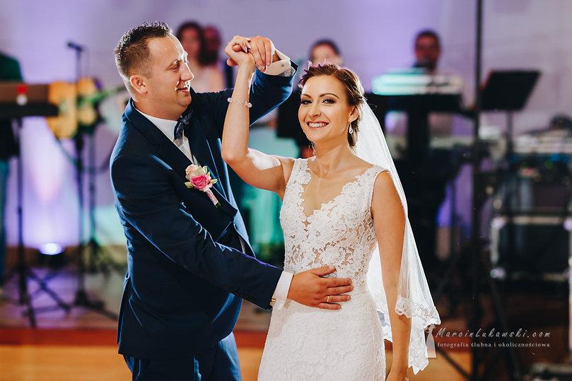 pierwszy taniec, ślub w Wyszkowie, wesele w Baśniowej
