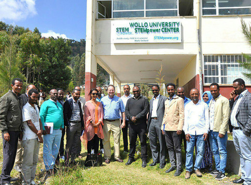 GFCT - STEMpower inaugurated Ethiopia's 24th STEM Center at Wollo University