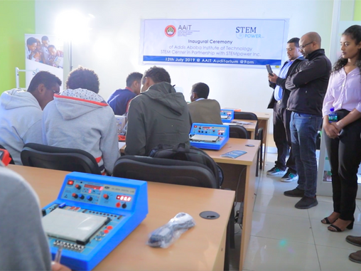 STEMpower Inaugurated a New STEM Center in the Capital City of Ethiopia