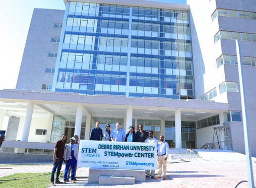 GFCT - STEMpower inaugurated Ethiopia's 25th STEM Center at Debre Birhan University
