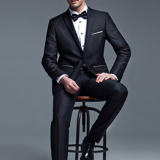 Nothing looks better for a black tie event than a classic tuxedo
