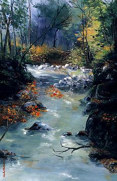 La rivière qui chante 92x60