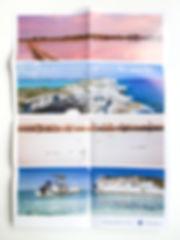 Completely unfolded of East Bay Resort Brochure