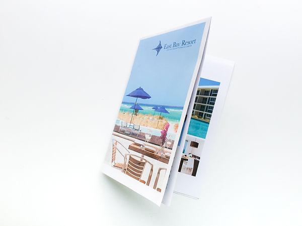 Folded East Bay Resort Brochure
