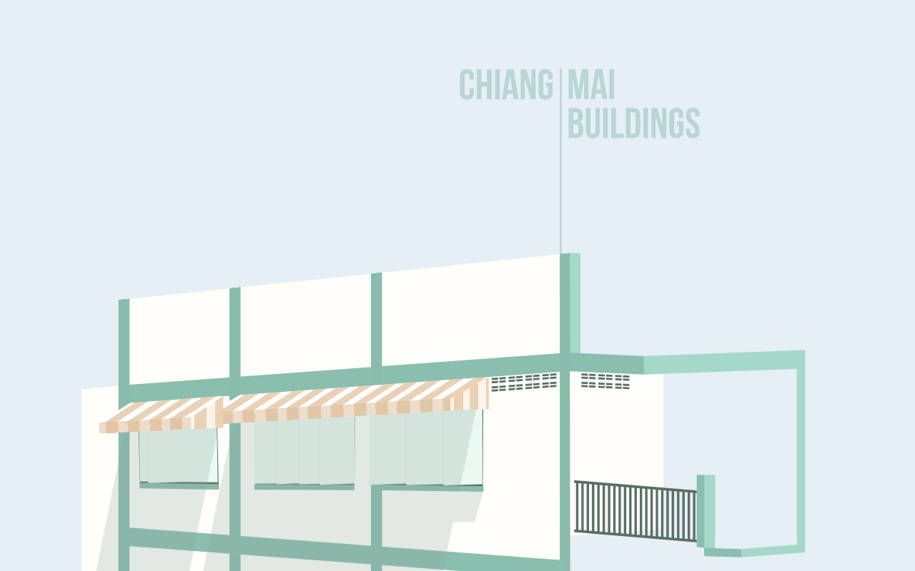 minimal ChiangMai buildings_1