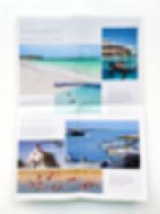 Second unfolding of East Bay Resort Brochure
