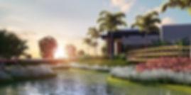 projeto paisagismo loteamento lago e sede central