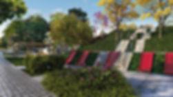 projeto paisagismo loteamento área comum playground