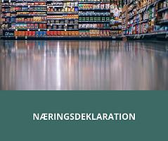 Kursus om næringsdeklaration