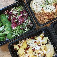 Vegetariánské krabičkové stravování